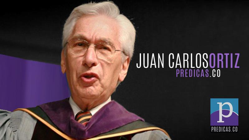 El Pastor Juan Carlos Ortiz predica sobre la Cruz de Jesus
