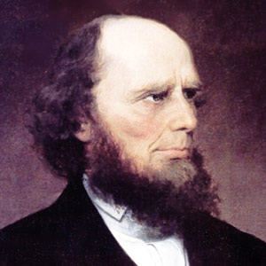 Charles Finney predicando el sermon